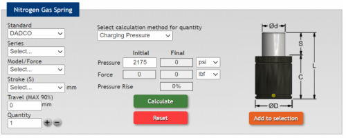 Spring Force Calculator